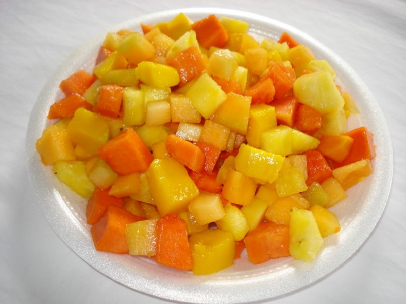 TROPICAL MIX FRUIT MANGO PINEAPPLE PAPAYA 2